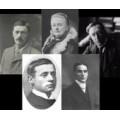 W. W. Jacobs, A. B. Edwards, W. H. Hodgson, M. R. James,  E. F.