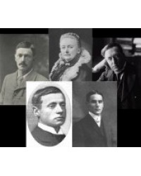 W. W. Jacobs, A. B. Edwards, W. H. Hodgson, M. R. James,  E. F.