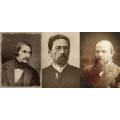 Н. В. Гогол, А. П. Чехов, Ф. М. Достоевски
