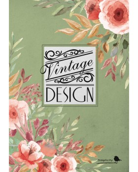 Notebook VF02 - soft cover, singer sewing